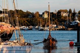Science Channel Film Crew Maritime Gloucester Polaris Viking Ship -4 copyright Kim Smith