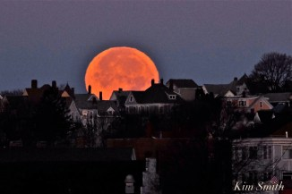 Full Moon Gloucester City Skyline November Frost Moon Beaver Moon -2 copyright Kim Smith