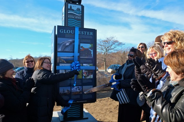 Essex Coastal Scenic Byway Ribbon Cutting Gloucester copyright kim Smith