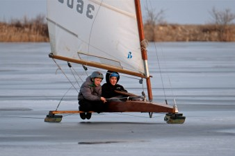 ice sailing niles pond copyright kim smith - 12