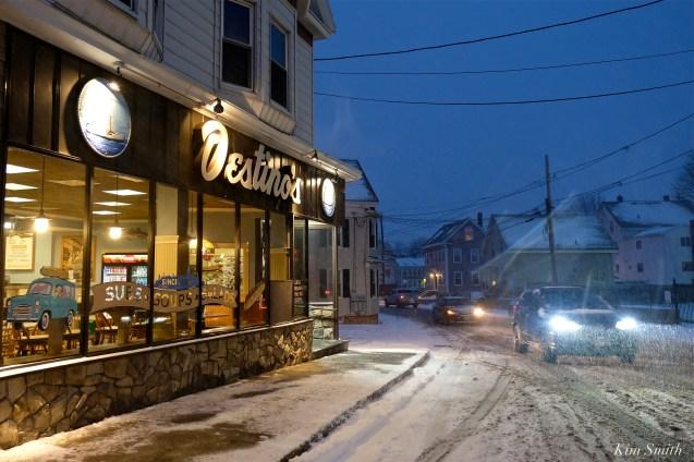 Gloucester Snowy Night Destinos copyright Kim Smith