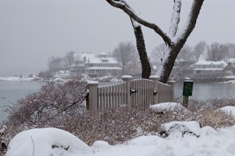 Snowy Day Niles Beach Gloucester copyright Kim Smith - 14