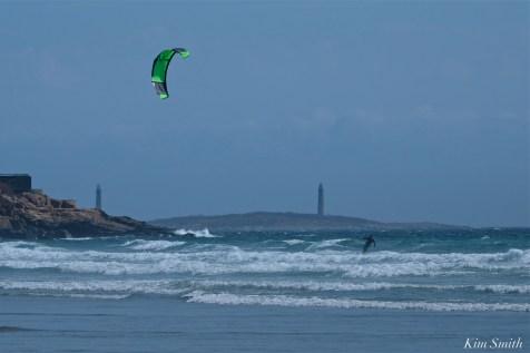Kitesurfing Good Harbor Beach Gloucester copyright Kim Smith - 02