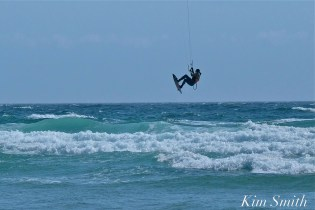 Kitesurfing Good Harbor Beach Gloucester copyright Kim Smith - 05
