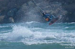 Kitesurfing Good Harbor Beach Gloucester copyright Kim Smith - 06