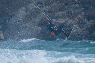 Kitesurfing Good Harbor Beach Gloucester copyright Kim Smith - 07