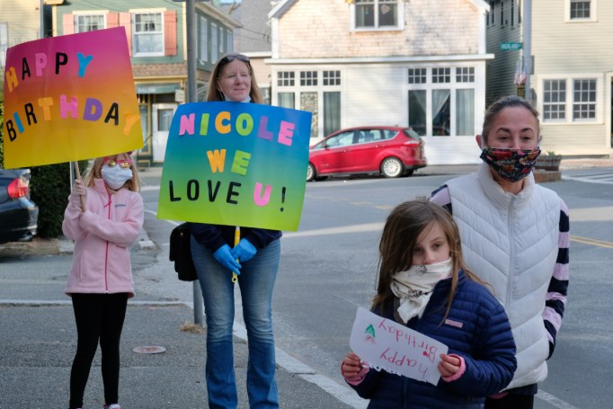 Nicole Duckworth Birthday Parade Coronavirus copyright Kim Smith - 2 of 22