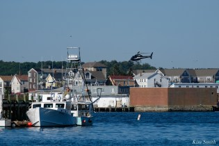 Wicked Tuna Filming Gloucester Harbor Boston Executive Helicopters copyright Kim Smith - 5 of 10