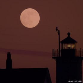 December Full Wolf Moon Eastern Point Lighthouse Gloucester Essex County copyright Kim Smith - 6 of 23