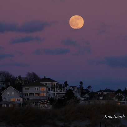 December Full Wolf Moon Good Harbor Beach Gloucester Essex County copyright Kim Smith - 14 of 23
