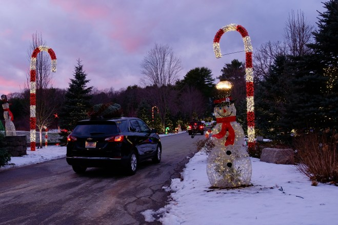 Galicki Magic Christmas Lights Ipswich Essex County copyright Kim Smith - 17 of 38