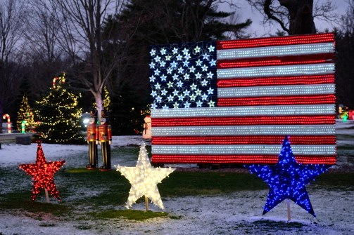Galicki Magic Christmas Lights Ipswich Essex County copyright Kim Smith - 20 of 38