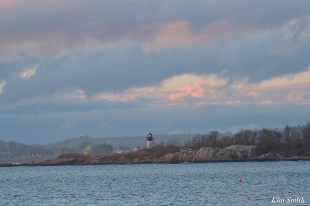 Ten Poud Island Lighthouse After Storm Gloucester Essex County Massachusettts copyright Kim - 1 of 1 (2)
