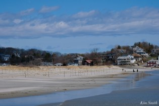 Piping Plover Fence Installation Good Harbor Beach Essex County March 29, 2021 copyright Kim Smith - 9 of 9
