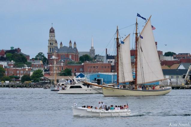 Schooner Parade of Sail American Eagle Gloucester 2021 copyright kim Smith - 10 of 52