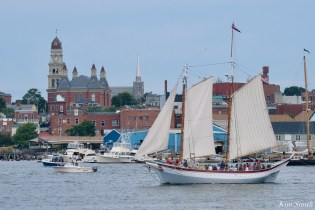 Schooner Parade of Sail Ardelle Gloucester 2021 copyright kim Smith - 15 of 52