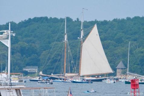 Schooner Parade of Sail Columbia Gloucester 2021 copyright kim Smith - 41 of 52