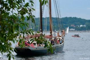Schooner Parade of Sail Gloucester Roseway 2021 copyright kim Smith - 2 of 52