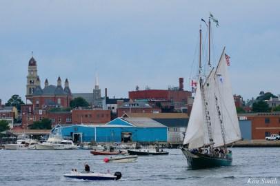 Schooner Parade of Sail Gloucester Thomas E. Lannon 2021 copyright kim Smith - 4 of 52