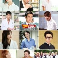 [News] 130822 Para Top Artis Beri Dukungan Kim So Eun dan 5urprise Untuk Drama 'After School Bokbulbok'