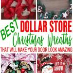 Best Dollar Store Christmas Wreath Diy Holiday Wreath Ideas Learn How To Make Wreaths To Make