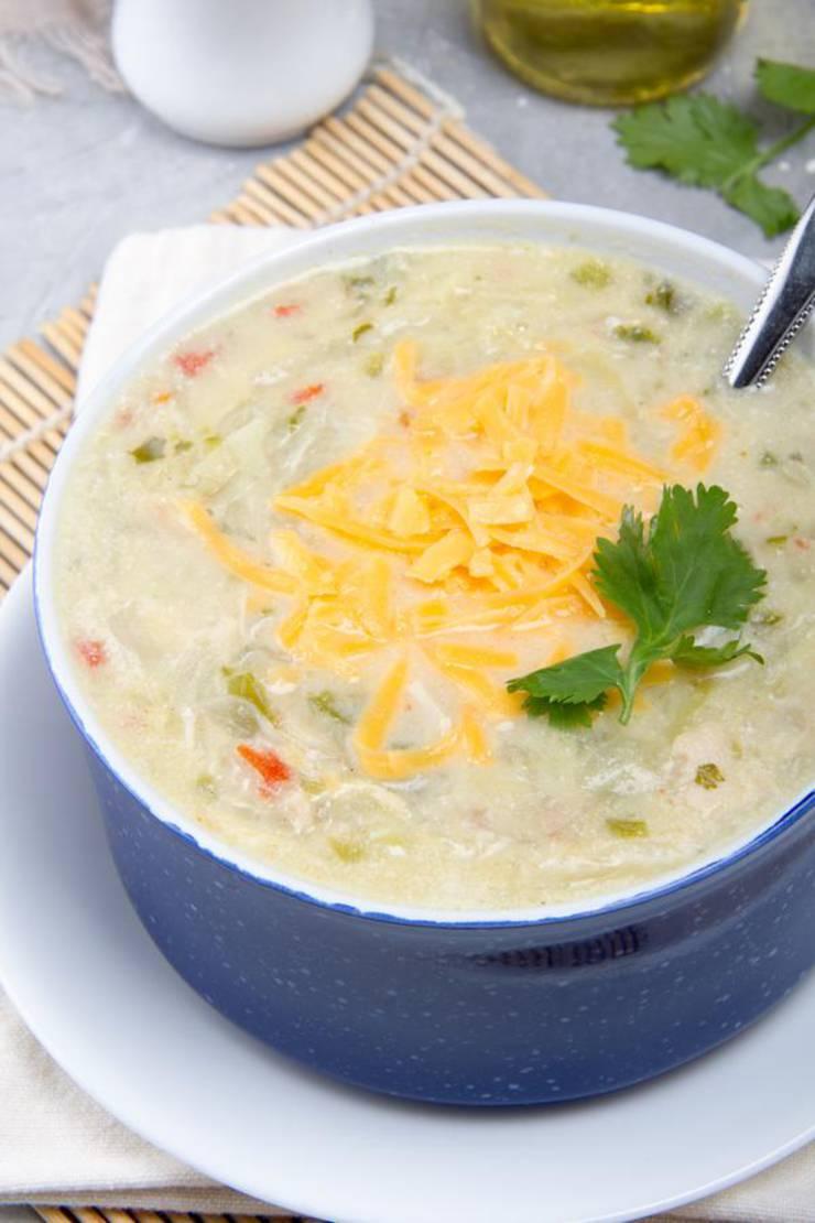 Keto Chicken Fajita Soup