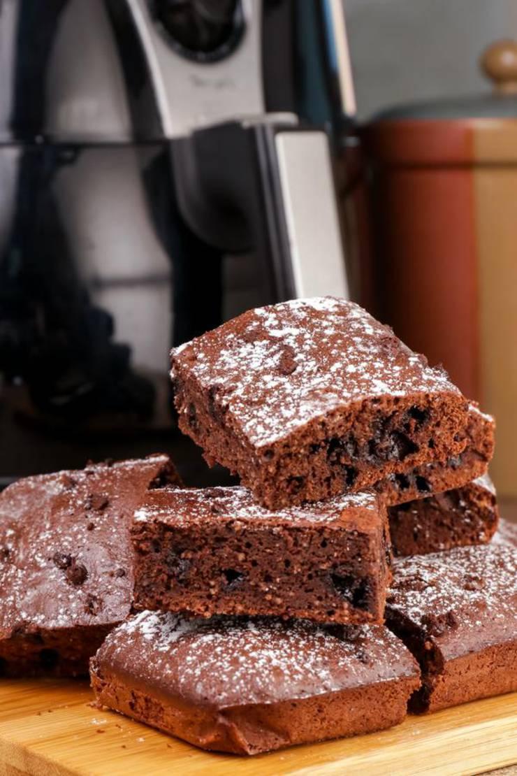 Easy Air Fryer Keto Brownies