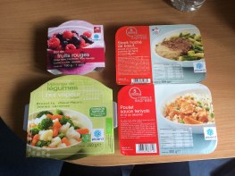 In a previous photo post, I had photos of a frozen foods store called Picard. These are the dishes that I picked up to try... and let me tell you, frozen food can be tasty!