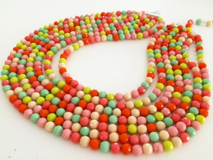 Candy necklace by Kim Taitano