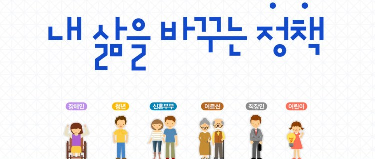 대한민국 정부 정책 홍보 내 삶을 바꾸는 정책