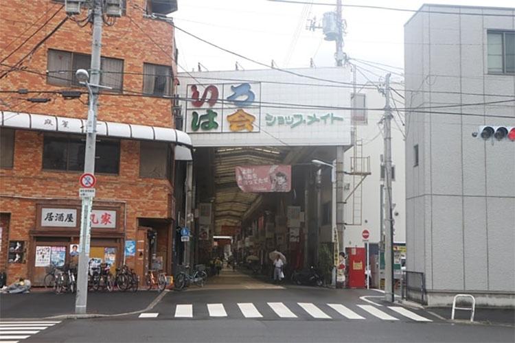 도쿄 산야 이로하회 상점가 도쿄 산야(山谷) 도시빈민가와 일본의 3대 빈민거리
