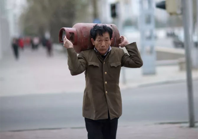 북한사진7 촬영이 금지된 북한풍경을 찍은 여행 사진작가의 작품