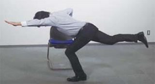암레그레이즈 요통에 특효 3초 스트레칭 체조와 코어근육 강화 드로인 운동법