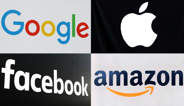 GAFA LOGO 일본도 글로벌 IT기업 플랫포머 GAFA 규제