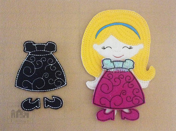 Introducing NON PAPER DOLLS!