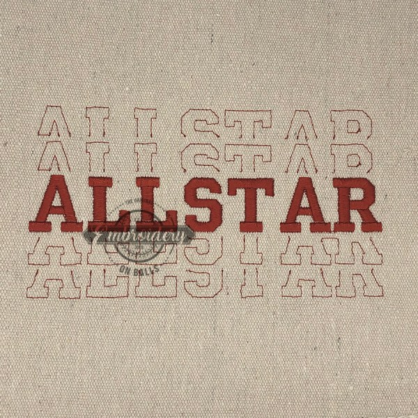 Breakout Allstar - Embroidery Design