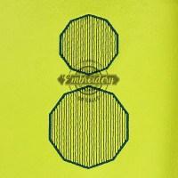 Decagon Sketchy Baseball Softball Embroidery Design