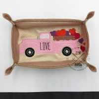 kimtown Truck Full of Love Trinket Tray
