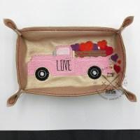 kimtown Truck Full of Love Trinket Tray