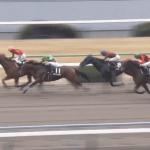 """<span class=""""title"""">木村牧場生産馬マイネルオスカル、特別勝ちで3勝目!</span>"""
