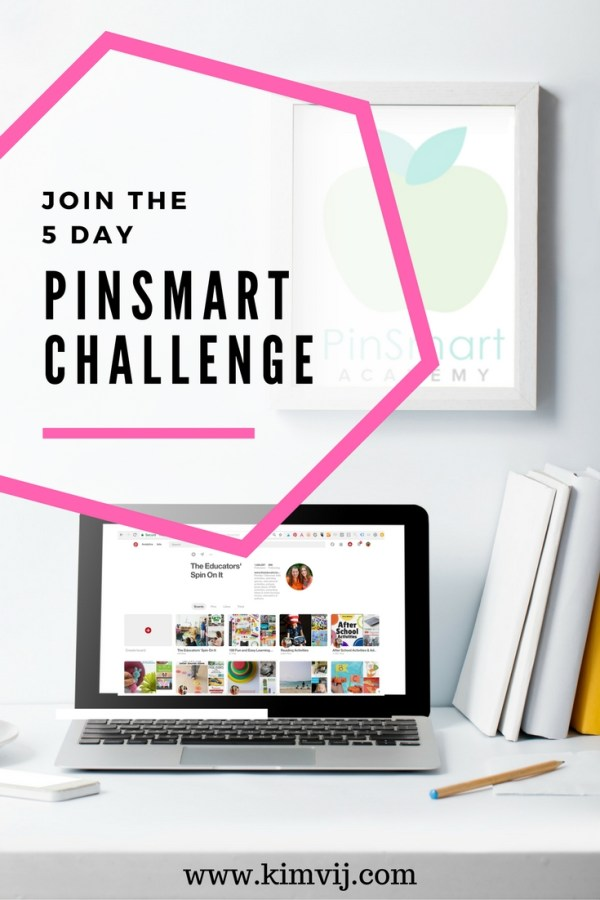 Pinterest Marketing Strategies for Your Website and Pinterest Account Online. Join the PinSmart Academy Challenge with Kim Vij