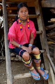 Kayaw woman
