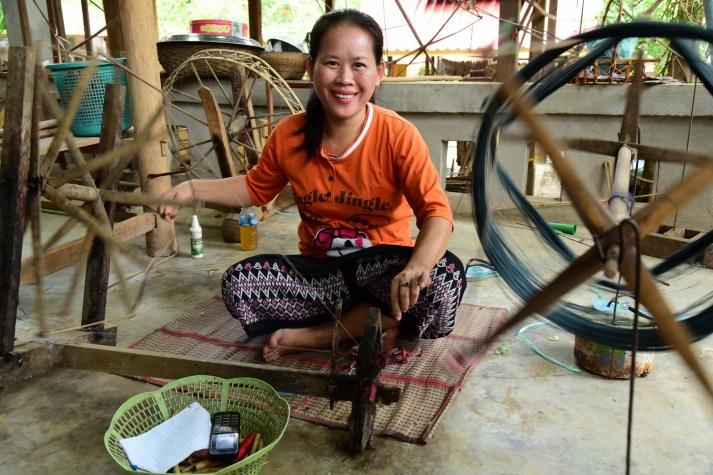 Ban Xang Khong Village - Weaver