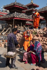 Monk in Ruins
