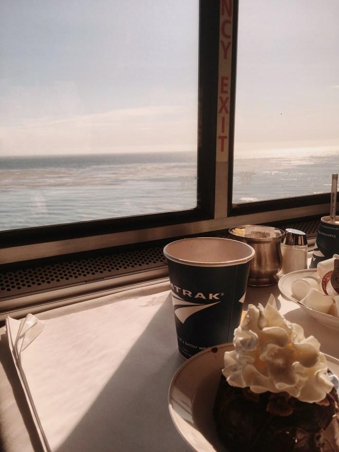 Лос-Анджелес, путешествие, амтрак, поезд