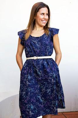 Dress sewing pattern dressmaking Warana
