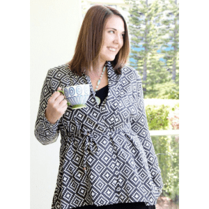 easy to sew cardigan pattern for beginners
