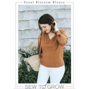 easy sew blouse v neck