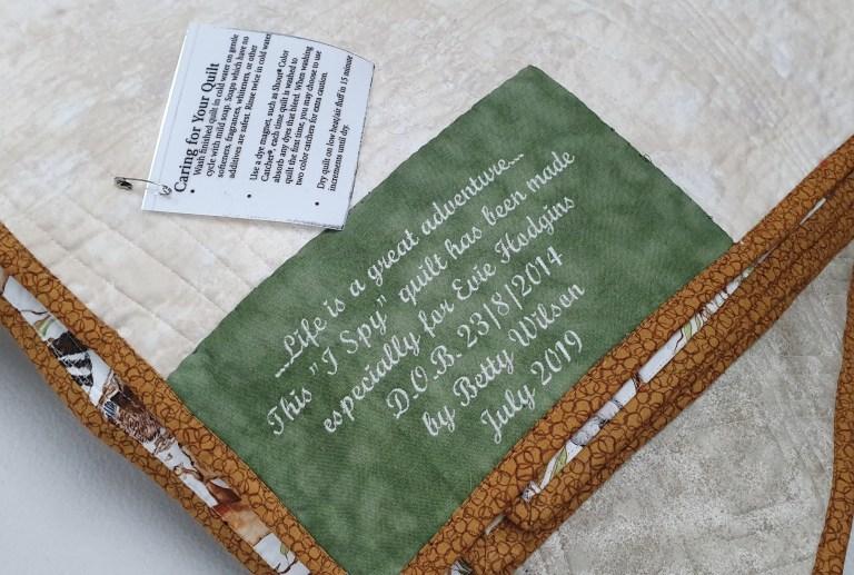 Quilt Labels Maroochydore