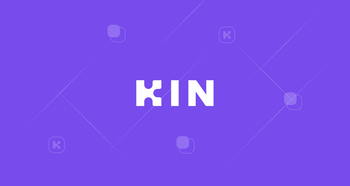 Logo for the Kin cryptocurrency.